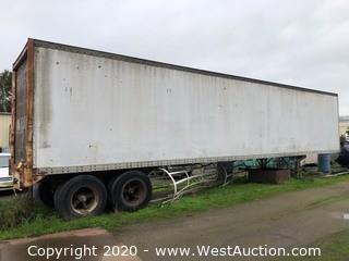 1979 Evans 45ft FA-70 Enclosed Trailer