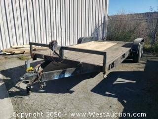 Champ Atwood 7,000 lb Flatbed Trailer