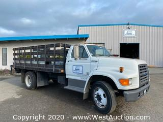 1995 Ford F-800 Diesel Stake Side Truck
