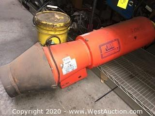 Allegro Industries 9514‐25 Axial Blower with Canister