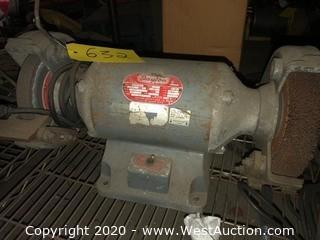 Dayton 3/4 HP Bench Grinder
