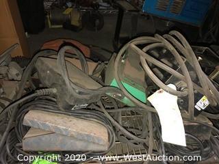 (7) Assorted Foot Pedals & Controls