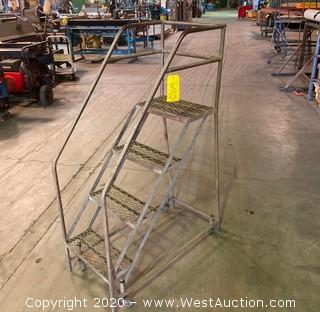 3' Rolling Step Ladder