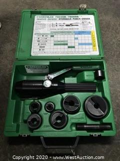 Greenlee 7806SB Hydraulic Punch Driver Set