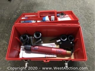 Tool Box with Socket Wrench