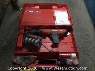 Hilti DX36M Powder Actuated Fastening Tool with Case