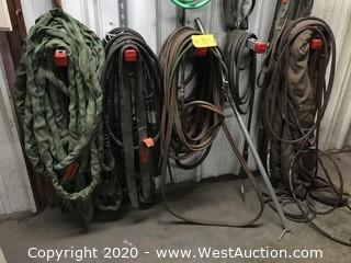 Heavy Duty Slings, Air Hoses, Welding Leads