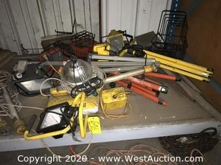 Heavy Duty Work Lights and Stands