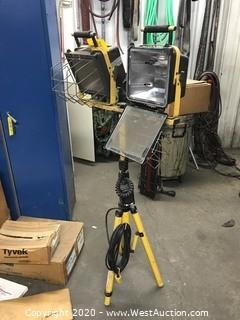 Tripod Work Light