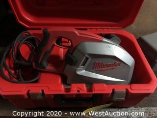 "Milwaukee 6370-20 8"" Metal Cutting Saw with Case"