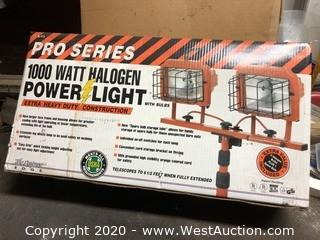 Designers Edge L-11 Pro Series 1000W Halogen Power Light