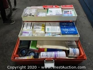 First Aid Kit in Toolbox
