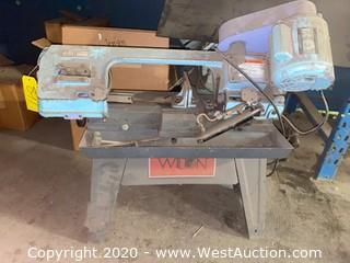 "WILTON 1/2 HP 3Z990 Horizontal Band Saw, Max. Blade Length: 68-1/2"""