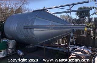Galvanized Steel Grain Silo