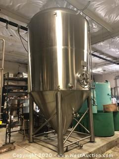 Pacific Brewery Systems 90BBL Brite Tank