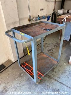 Little Giant Metal Tool Cart