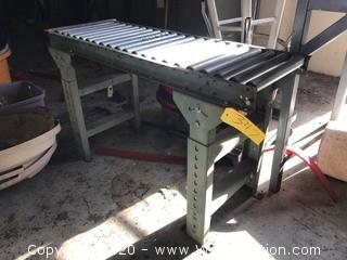 """45""""x16"""" Roller Table"""