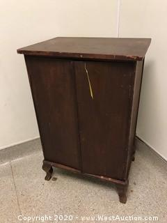 "17""x24""x36"" Wood Cabinet"
