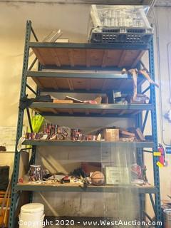 Contents of Rack ; Pallet of Aluminum Cans, Valve Parts