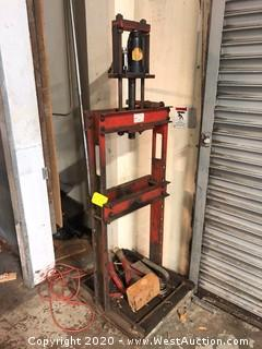 12 Ton Snap-on Hydraulic Jack Press