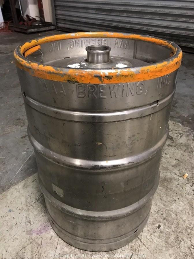 Tenant Abandonment Auction of Copper-Clad Brewhouse and Brewing Equipment from Petaluma Brewery