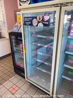Commercial Single Door Reach-In Freezer