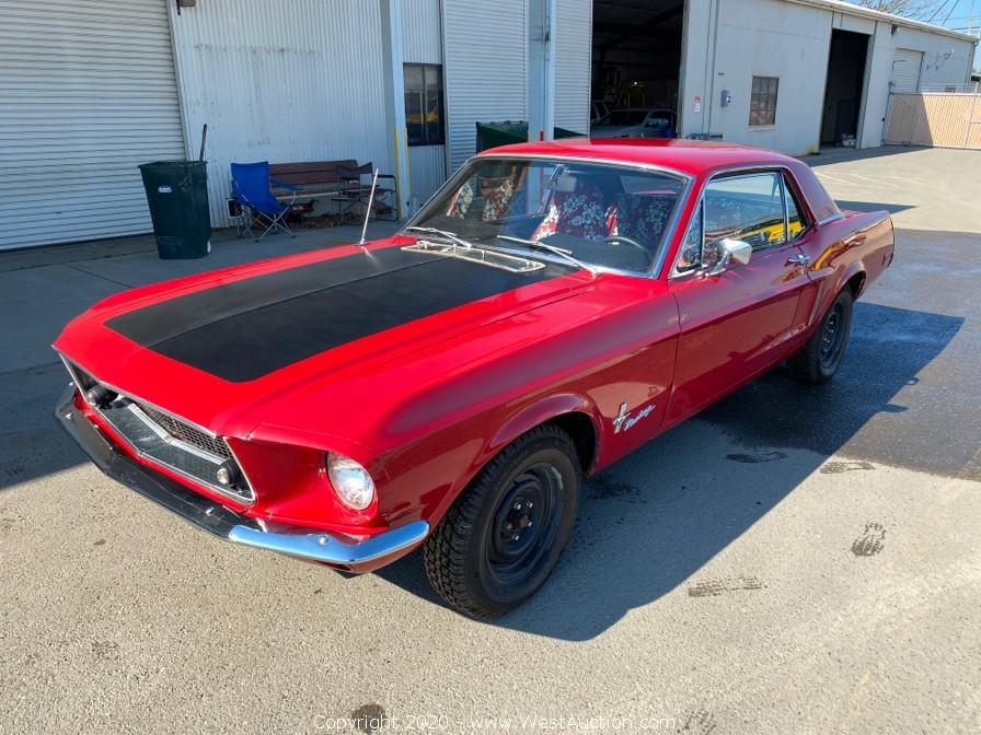 1968 Ford Mustang 302 for Sale in Woodland, CA
