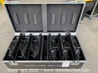(6) Revolution RD3 LED Panels, 3mm, Indoor, 2000 NITS