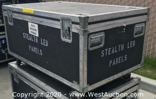 (42) Element Labs Stealth 25mm LED Panels in Road Case