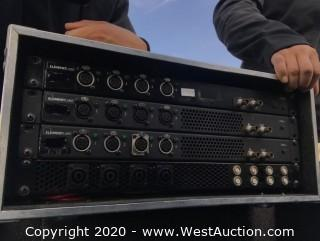 (2) Element Labs Stealth PDB3 Power Dist. Boxes with L630 Connectors in Road Case