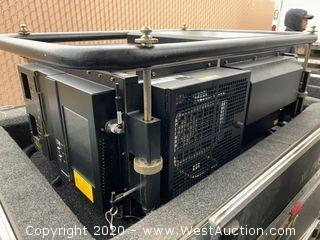 (1) Digital Projection DLP-35 HD Projector with Multi-Media 1000 Switcher in Road Case