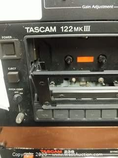 Tascam 122 Mark III Cassette Deck