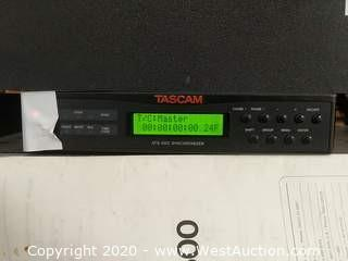 Tascam ATS-500 Synchronizer, Cables, and Manual