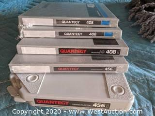 Ampex 408 and 456 Quarter-inch Tape NOS