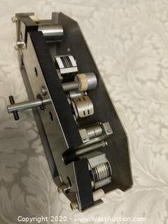 Ampex ATR 102 Quarter Inch Quarter Track And Four Track Combo Head Stack