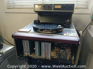 Ampex ATR-102  Analog Recorder With Quarter-inch Half Track Heads