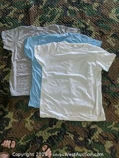 (1200) American Apparel Cotton Jersey T-shirts