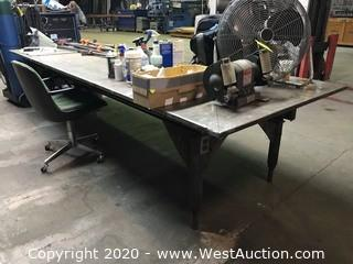 4'x12' Welding Table (table only)