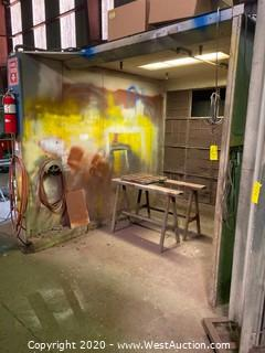Paint Booth with Certified Fire Suppression System