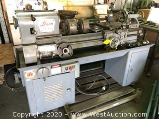 Logan 6560-14 Screw Cutting and Turret Vintage Lathe