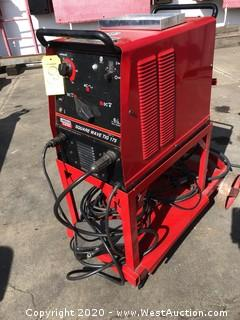 Lincoln Electric 175 Square Wave Tig Welder on Steel Cart