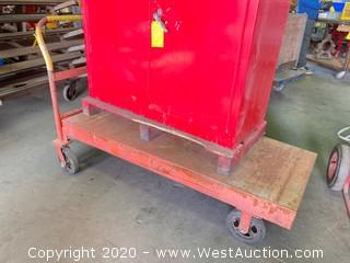 5ft Steel Flatbed Truck