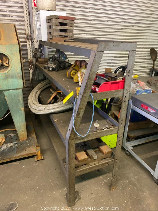 Online Auction of Machinery and Tooling in San Leandro, CA