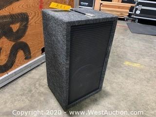 "Dual 10"" Speaker System"