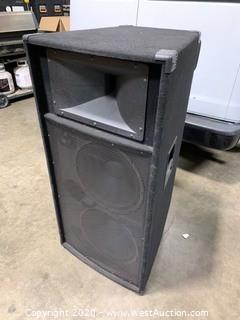 "Sonic Dual 15"" Speaker System"