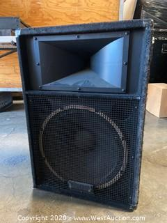 "Yamaha 15"" Speaker System"