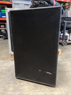 """15"""" Low Frequency 2"""" High Frequency Compression Driver 2 Way Bi-Amp Mid-High Speaker System"""