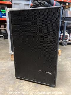 "15"" Low Frequency 2"" High Frequency Compression Driver 2 Way Bi-Amp Mid-High Speaker System"