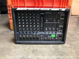 Yamaha Powered Mixer Model EMX66M