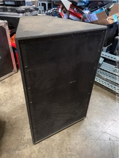 """15"""" Low Inch 2"""" High Frequency Compression Driver 2 Way Bi Amp Mid-High Speaker System"""